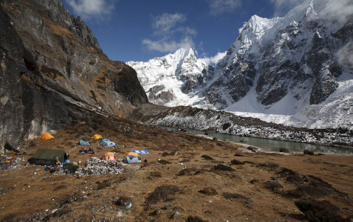 Makalu to Sherpeni col and west col with climbing Mera Peak